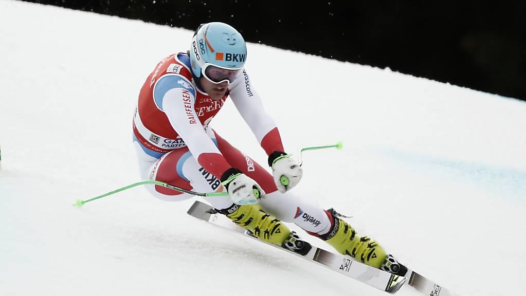 Stefan Rogentin war im ersten Training der bestklassierte Schweizer.