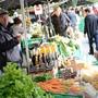 Der Aarauer Wochenmarkt am Samstagmorgen fehlt. (Symbolbild)