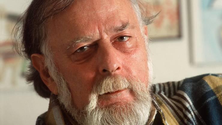 Der Schriftsteller Hans Manz ist mit 85 Jahren gestorben. (Archivbild)