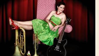 Privatsphäre ist Frölein Da Capo wichtig: Zu Hause ruht sich die Musikerin, Schauspielerin und Kolumnistin gerne als Irene Brügger aus. (Pressefoto)