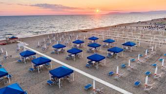 Bald sollen Touristen wieder die italienischen Sonnenuntergänge geniessen können.