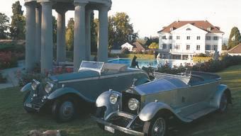 Der Stiefsohn Napoleons I., Prinz Eugène de Beauharnais, liess ab 1819 ob Salenstein Schloss Eugensberg bauen. 1990 übernahm es eine Firma der Erb-Gruppe. Dort befindet sich eine Oldtimer-Sammlung. Dazu zählen zwei Rolls-Royce: ein Silver Ghost 1921 und ein Phantom II 1932 (rechts). HO