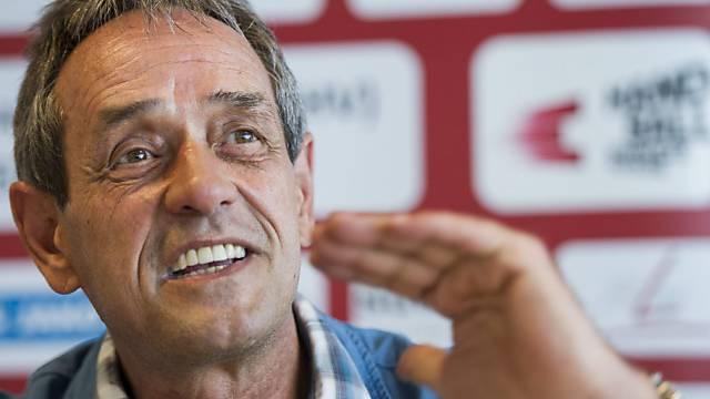 Der neue Nationaltrainer Rolf Brack wurde als Klubtrainer entlassen