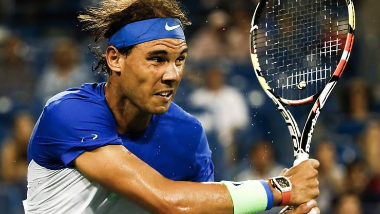 In Cincinnati eine Runde weiter: Rafael Nadal