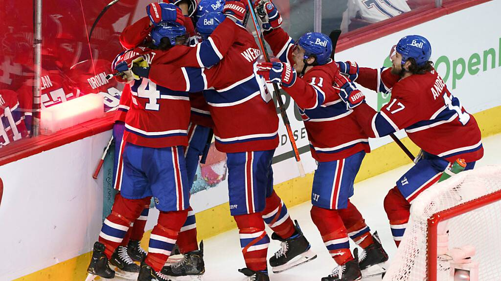 Grenzenloser Jubel bei den Montreal Canadiens nach dem Erreichen des Stanley-Cup-Finals
