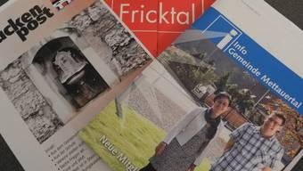 Die Gemeinden Stein und Mettauertal veröffentlichen regelmässig Informationsbroschüren. mf