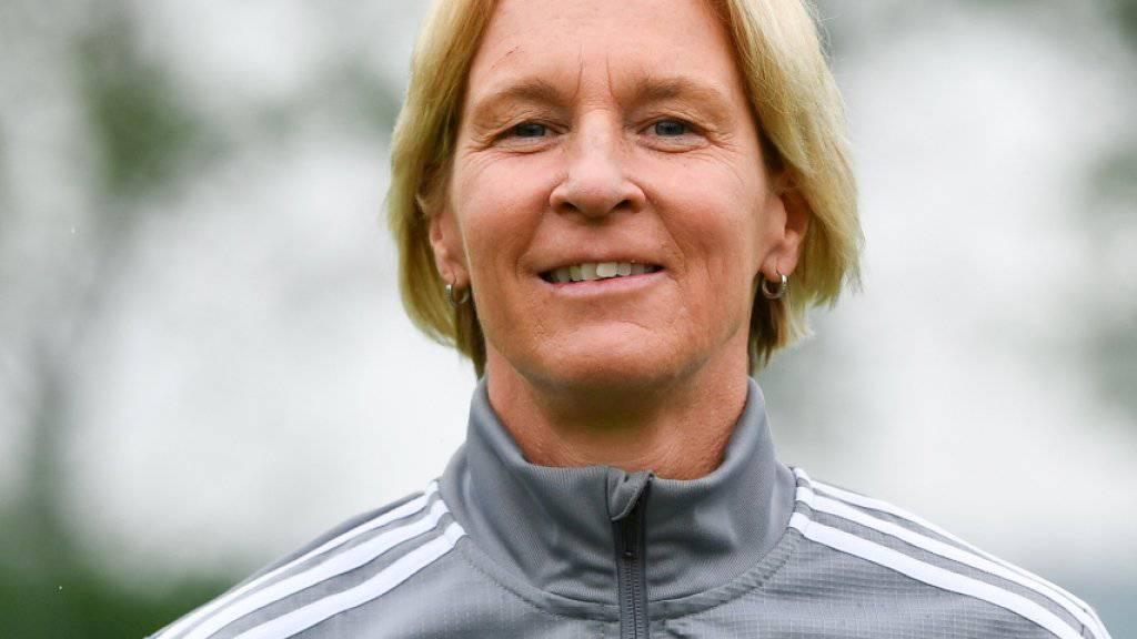 Die ehemalige Schweizer Frauen-Nationaltrainerin Martina Voss-Tecklenburg vor der Frauen-WM in Frankreich, an der sie nun ihr Heimatland Deutschland coacht