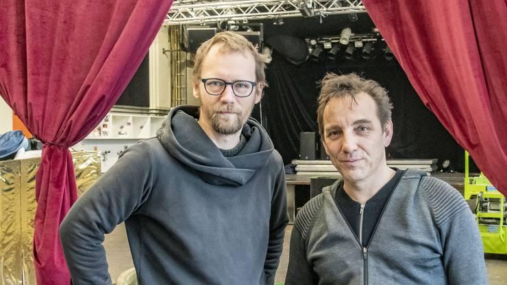 Marco Kleiner (links) und Markus Wolff sind Teil des Humbug-Vorstands.