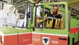 Er war 25 Jahre lang in der Feuerwehr: Thomas Bollinger.