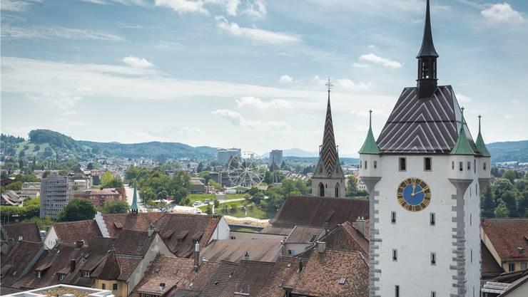 Mit  rund 60000 Einwohnern würde Baden zu den zehn grössten Städten des Landes zählen. (Archivbild)