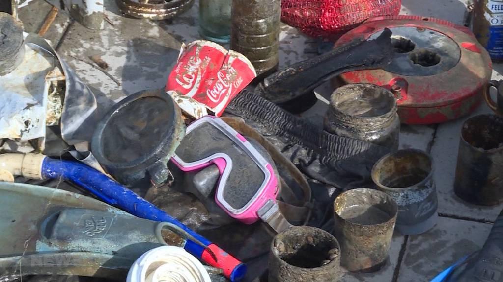 """Touchputzetä"" Moossee: Beliebtes Badeziel voller Müll"