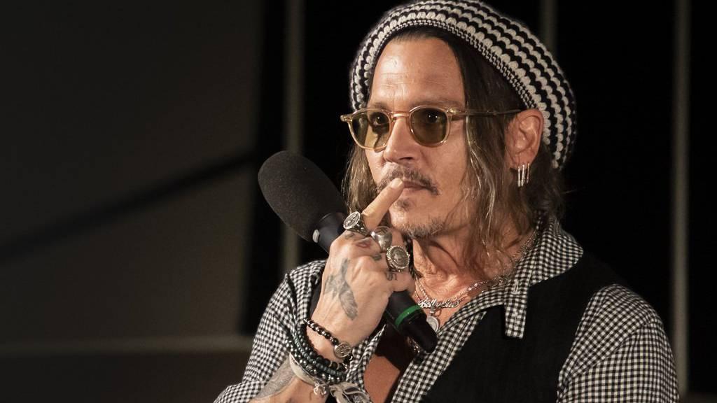 Johnny Depp besucht Zürich