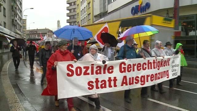 1. Mai-Umzüge in Olten und Aarau