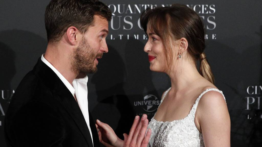 «Fifty Shades Freed» an Spitze