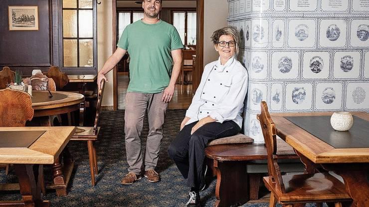 Buchs, 27. November: Die «Burestube» feiert Neueröffnung. Wirt Andy Zaugg und Küchenchefin Rita Camenzind freuen sich auf den Start.
