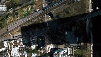 Der Schattenwurf des Swissmill-Towers in Zürich sorgte in der Vergangenheit für viel Knatsch.
