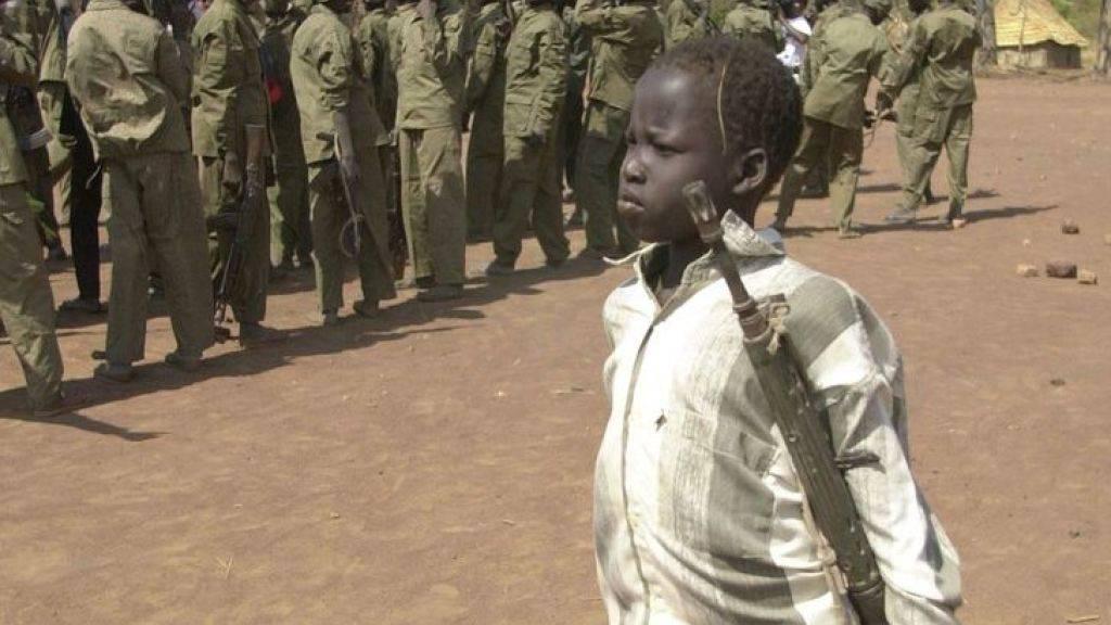 Im Südsudan sind seit Jahresbeginn mehr als 650 Kindersoldaten rekrutiert worden. Die UNO befürchtet einen weiteren Anstieg. (Archivbild)