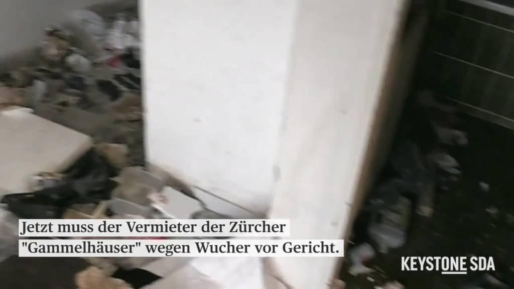 Vermieter der Zürcher «Gammelhäuser» wegen Wuchers vor Gericht
