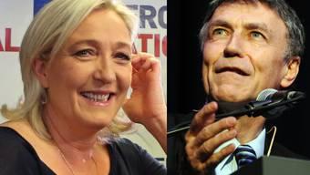 Marine Le Pen verhilft SVP-Nationalrat Luzi Stamm nicht zu Freudensprüngen.