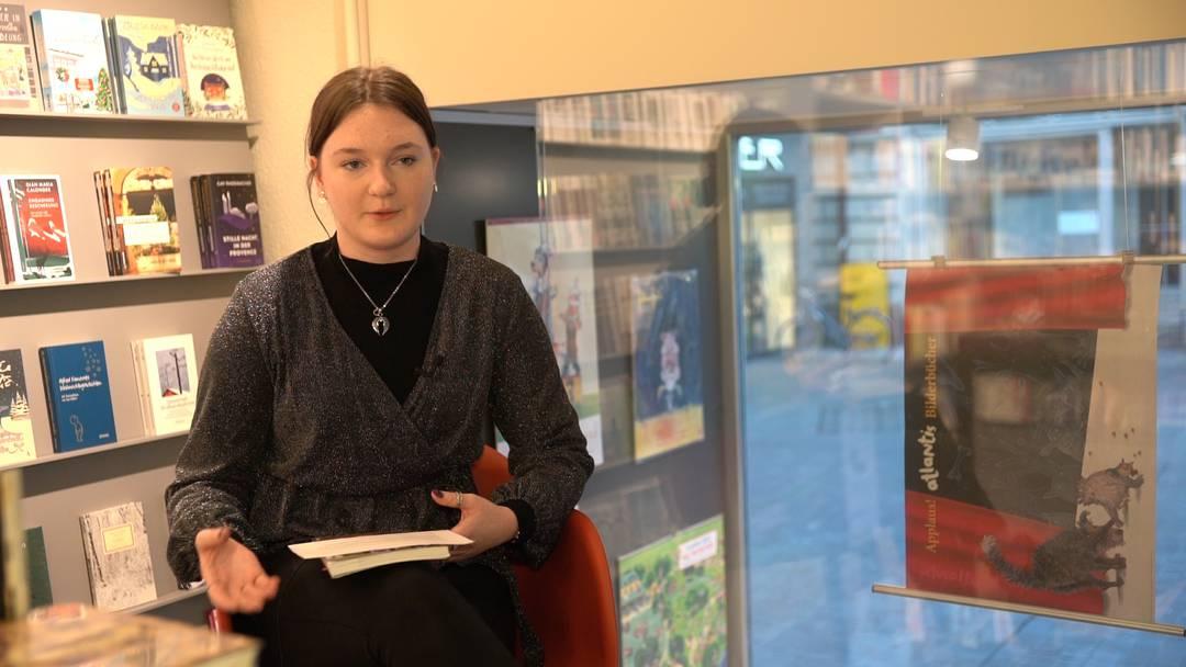 Alina von Burg, Buchhandlung Kronengasse