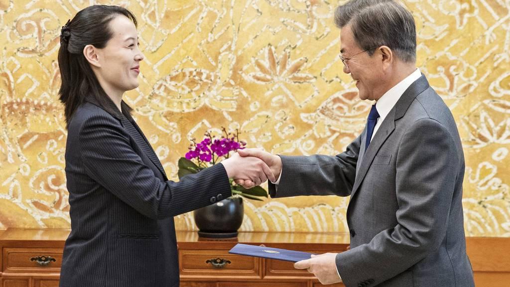 Annäherung Nord- Südkorea