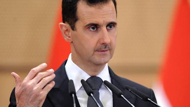 Im Visier der syrischen Demonstranten: Präsident Baschar al-Assad (Archiv)