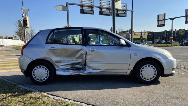Die Fahrer wurden nicht verletzt.