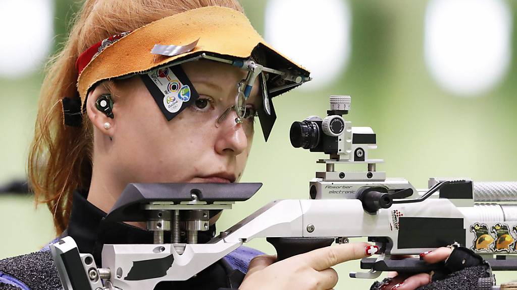 Nina Christen an den Olympischen Spielen 2016 in Rio de Janeiro