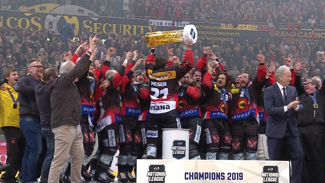 SCB ist Schweizer Meister: Das Freudenfest!