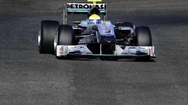 Nico Rosberg mit Bestzeit bei Tests in Jerez