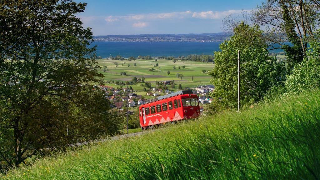Die Linie Rheineck-Walzenhausen gilt auch als Erlebnisbahn.