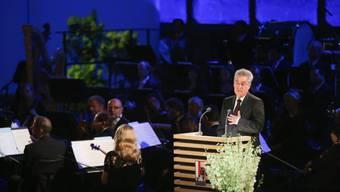 Hat die Salzburger Festspiele 2014 eröffnet: Heinz Fischer