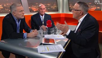 Ausschnitt aus der Sendung «TalkTäglich» auf Tele Züri vom Mittwochabend.