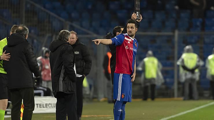 Wann Zdravko Kuzmanovic wieder fit ist und eingewechselt werden kann, ist derzeit nicht klar.