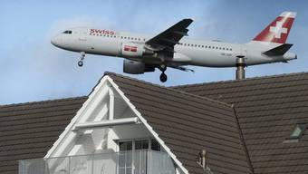 Einigung im Fluglärm-Streit: Die Schweiz und Deutschland schliessen einen Kompromiss (Symbolbild)