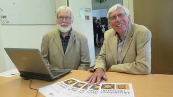 Werner Good (links) und Bernhard Gloor, die Initianten.