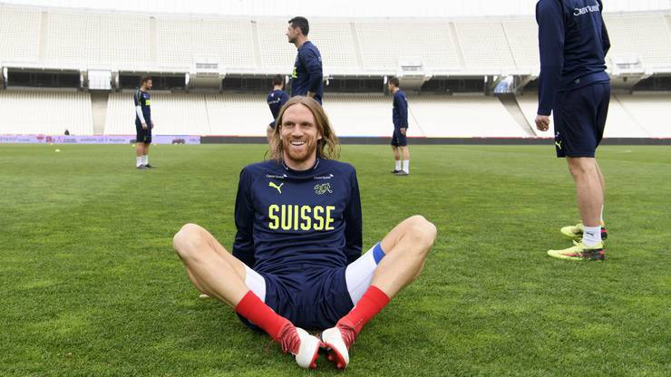 Michael Lang hat gut lachen: Er hat als einziger Super-League-Spieler den Cut ins vorläufige WM-Kader geschafft.