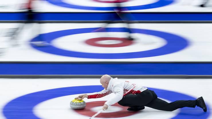 Teams aus 48 Nationen: Curling-Hochbetrieb auch an der Mixed-WM