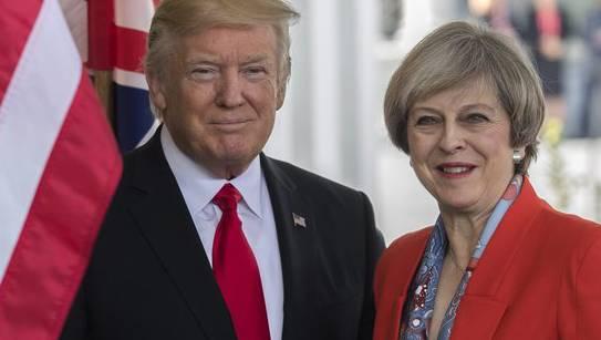 Die USA verraten britische Geheimdienstinformationen: Das gefällt May gar nicht.