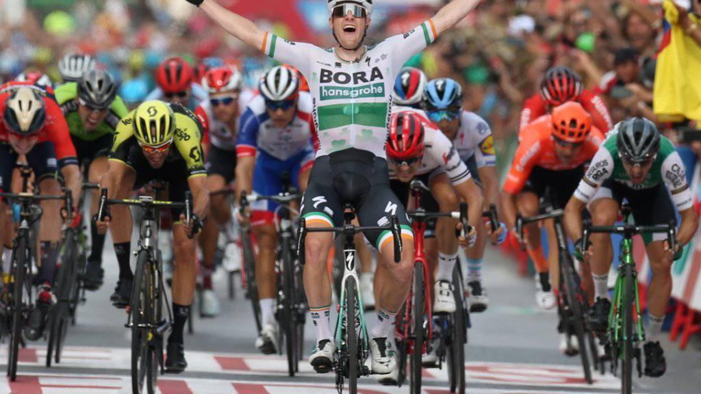 Sam Bennett gewinnt 3. Vuelta-Etappe
