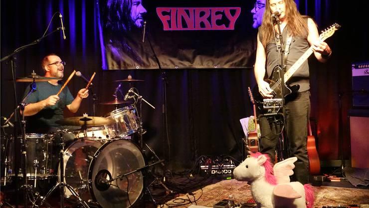 Tim Frey (l.) und Peter Finc begeisterten das Publikum im «Fjord».