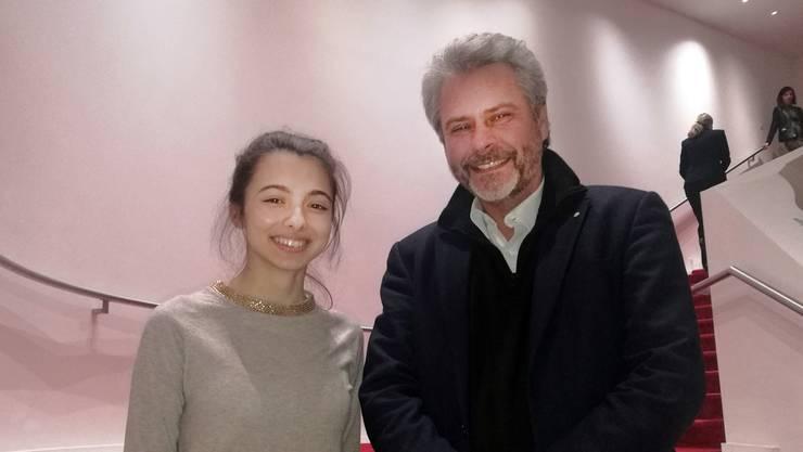 Ruedi Würgler und Laura Bretan.