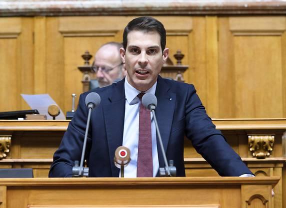 Thierry Burkart: «Die Kantone brauchen eine Zusicherung, dass sie langfristig Geld vom Bund erhalten.»