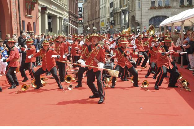New Zealand Army Band and Marching Drill Team