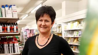 Marianne Meister im eigenen Laden in Messen.Hanspeter Bärtschi