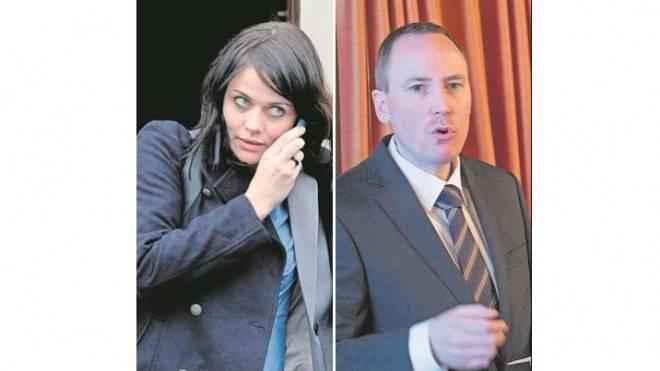 Jolanda Spiess-Hegglin und Markus Hürlimann. Foto: Keystone