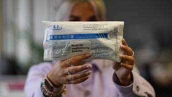 Für die korrekte Beschriftung der Packung fehlte dem Gesundheitsdepartement die Zeit.
