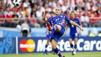 2008 trug Mladen Petric noch das Natitrikot Kroatiens.