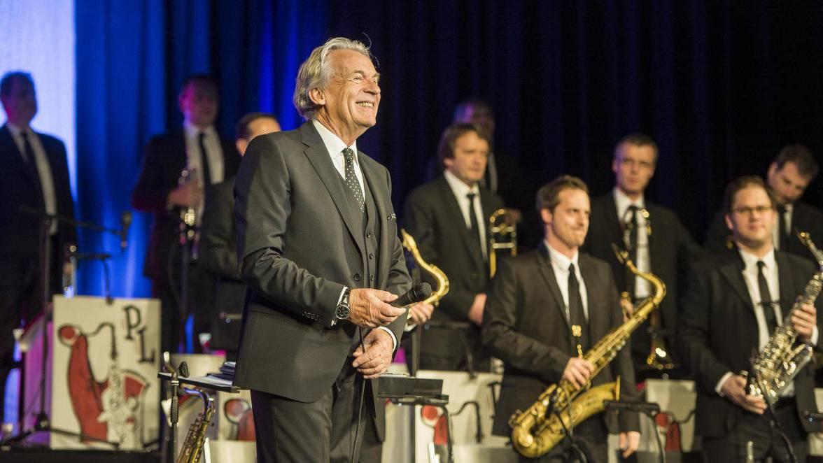 Frauenfeld TG - Konzert von Pepe Lienhard und seiner Bigband im Casino Frauenfeld. Pepe Lienhard kann vorerst nicht mehr mit seiner Big Band auf der Bühne stehen. (Reto Martin)