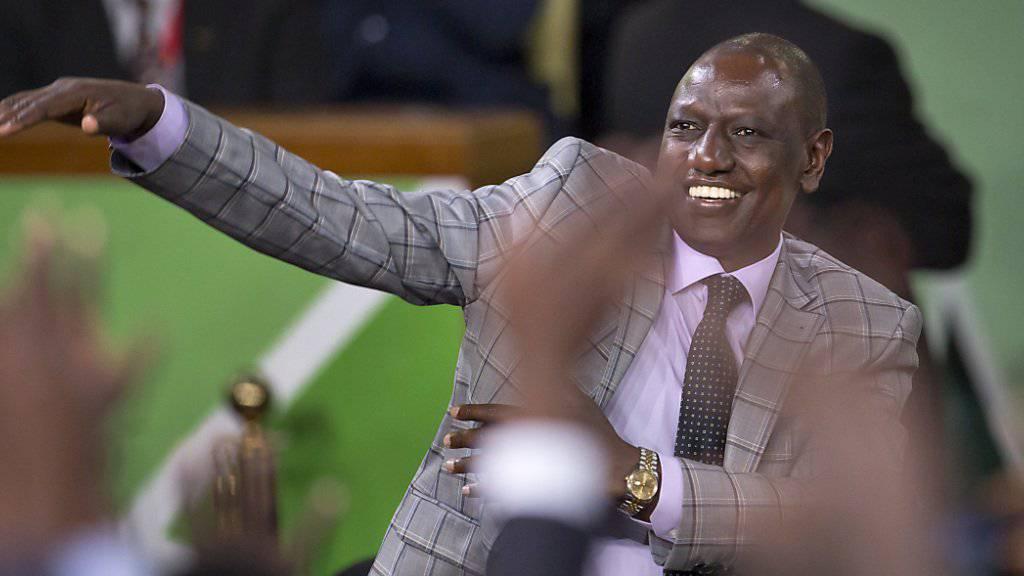Der Strafprozess gegen Kenias Vizepräsidenten William Ruto vor dem Internationalen Strafgerichtshof ist geplatzt. (Archiv)